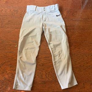 Nike baseball pants nwot white athletic